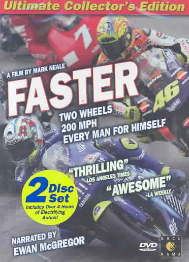 FASTER BY MCGREGOR,EWAN (DVD)